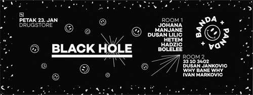 BANDA PANDA BLACK HOLE: Emotivno, razigrano,  a opet mračno! | Klub Drugstore | Beograd | 2015