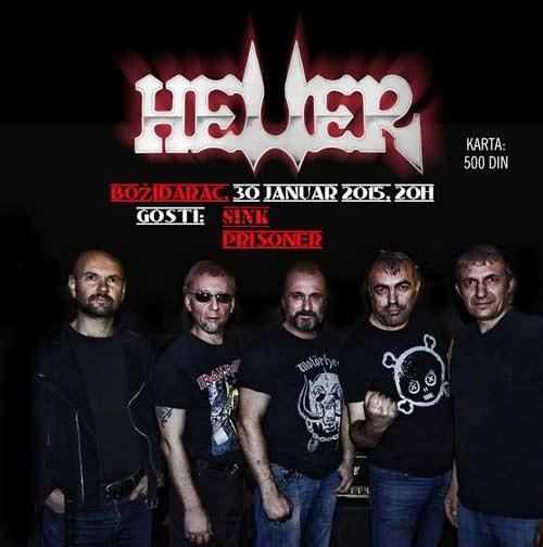 Heller: Veliki beogradski koncert na Vračar Rocks festivalu! | Klub Bozidarac | Beograd | 2015