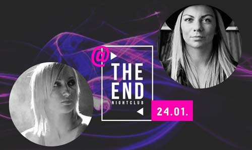 Dark Angel & Lady Dee: Fuzija minimal zvukova protkana istočnjačkim melodijama! | Klub The End night | Novi Sad | 2015
