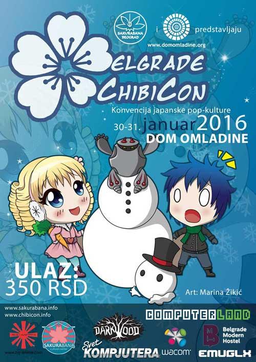 ChibiCon 2016: Konvencija japanske pop kulture u Domu omladine Beograda!