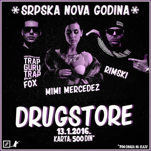 """MIMI MERCEDEZ & Fox & Rimski: Najprljaviji RAP za Srpsku Novu u """"DRUG§TORE""""!"""