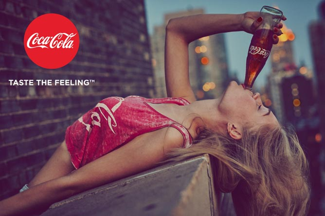 COCA-COLA: Širom sveta lansiran slogan TASTE THE FEELING! | Beograd Srbija 2016