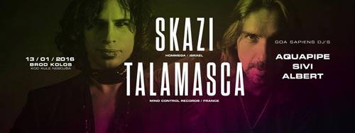 SKAZI & TALAMASCA: Vatrena proslava Srpeske Nove godine!   GoaSapiens