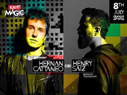 EXIT Festival 2016 | Arena | Hernan Cattaneo b2b Henri Saiz