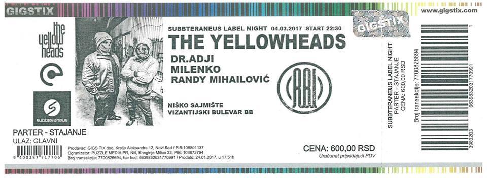 Yellow Heads karta
