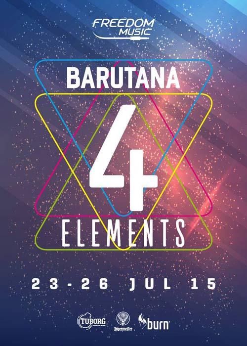 Muzički festival 4ELEMENTS na dve bine u Barutani! | Beograd