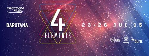 4 ELEMENTS: Novi četvorodnevni festival u BARUTANI! | Freedom music