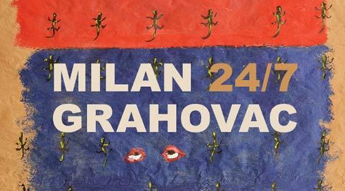 MILAN GRAHOVAC 24/7: Crteži, objekti, instalacije | Galerija u suterenu, MSUV