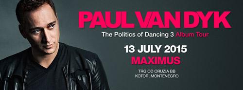 Paul Van Dyk: Elektronski spektakl za 9. rođendan Maximusa! | Montenegro | 2015