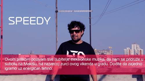 DJ Speedy: Dođite da zajedno igramo uz energičan tehno! | TECHNO DRIVE FESTIVAL