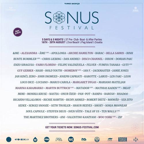 SONUS FESTIVAL 2015: Najveća imena elektronske muzike na trećem izdanju festivala!