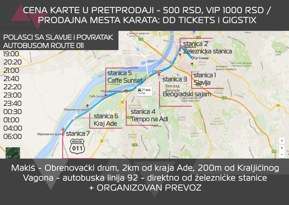 makis beograd mapa TECHNO DRIVE FESTIVAL: Boža Podunavac poziva sve ljubitelje  makis beograd mapa