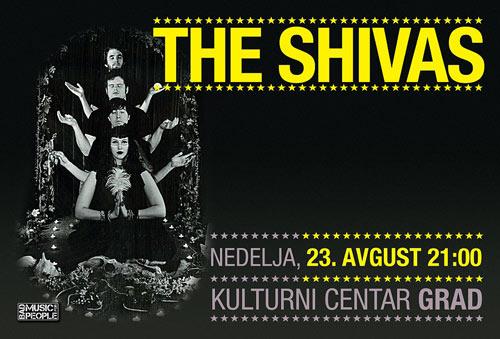 The Shivas (Portland, OR, U.S.A.) u oviru evropske turneje dolaze u Beograd! | KC Grad