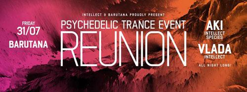 Trens i dram ovog vikenda u Barutani! | Psychedelic Trance Reunion