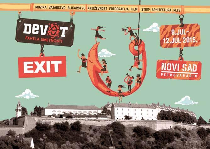 DEV9T STVARA DALJE NA EXITU! | Petrovaradinska tvrđava, Novi Sad