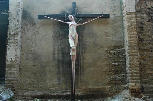 Arpad Slančik: Crucifixion