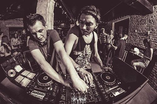 Mancha i Mark Panic / Foto: Marko Popović