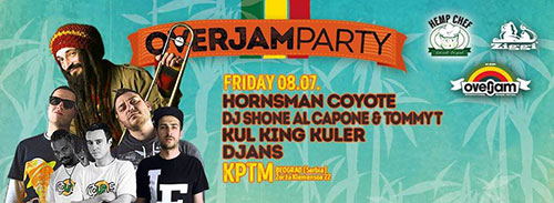 Couple Up predstavlja Overjam festival promo party | Klub KPTM Beograd 2016