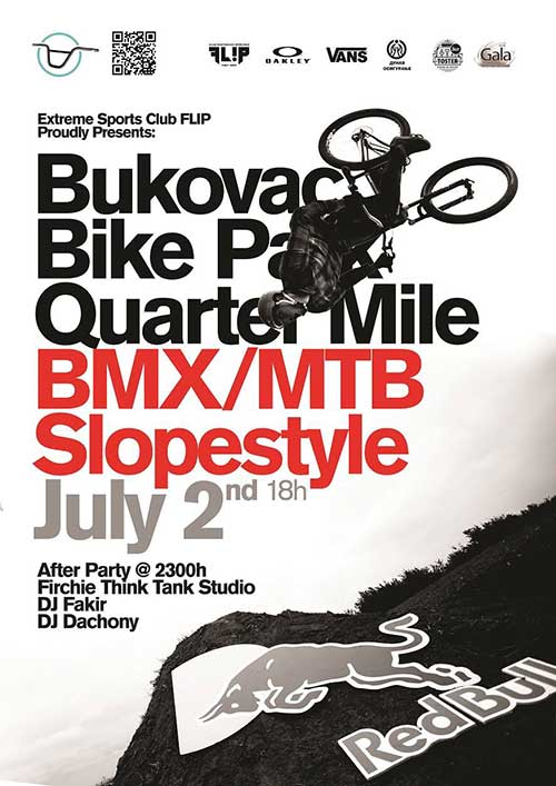 Bike Park Bukovac Quartermile Slopestyle