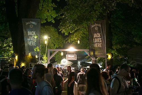 Jack Daniel's Experience (JDX) backstage