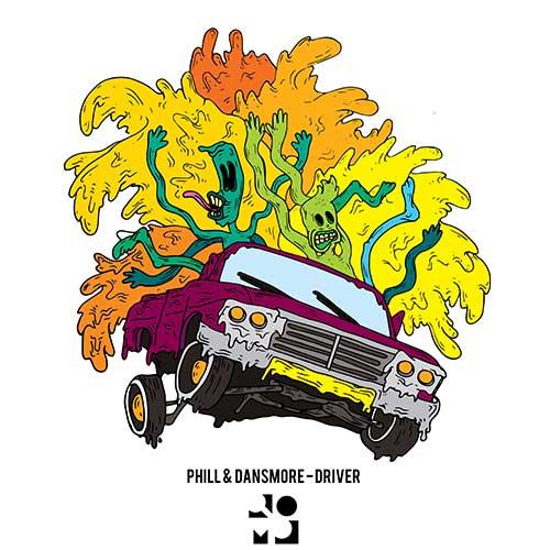 Senkina Ilustracija za Phill & Dansmore -Driver