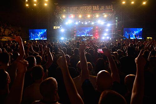 Partibrejkers na Tašmajdanu