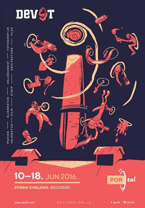SUTRA POČINJE DEV9T! | Stvaraj dalje | Devet favela umetnosti | Beograd 2016