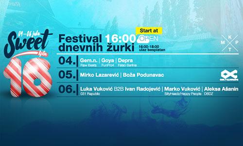 Letnji festival Sweet Sixteen
