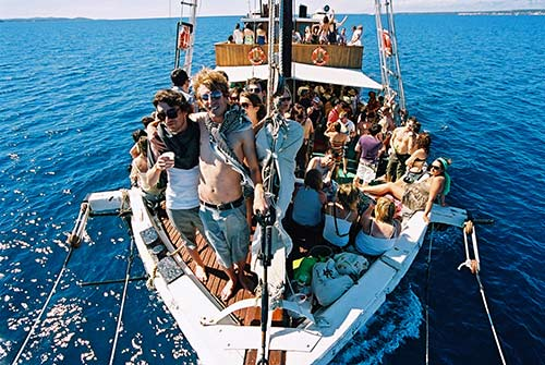 Boat party/ Foto: David Bowen