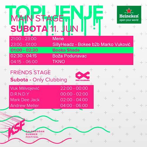 Završeno prvo veče TOPLJENJA Kalemegdan Summer Festivala | Beograd 2016