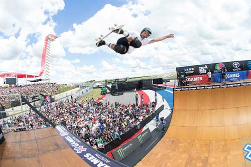 Sam Beckett , X Games 2016, Skateboarding Vert, foto: Monster Energy