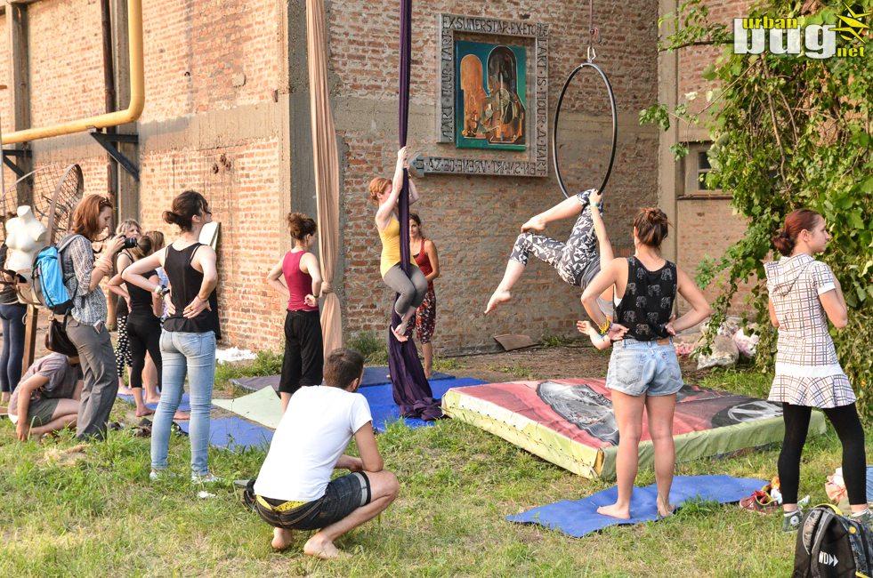 Već tri dana DEV9T je glavna umetnička kota! | Festival Ciglana | Devet favela umetnosti | Stvaraj dalje