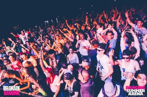 TKNO, DRNDY i Angry Eggs predstavljaju Banging Techno! | Banging Summer Arena | Beograd