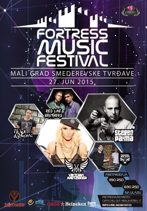 Fortress Music Festival: Muzički festival na Smederevskoj tvrđavi! | Smederevo | 2015