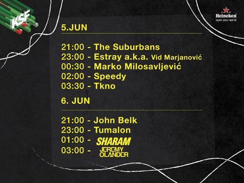 KALEMEGDAN SUMMER FESTIVAL objavio finalnu satnicu i line up! | Beograd | 2015