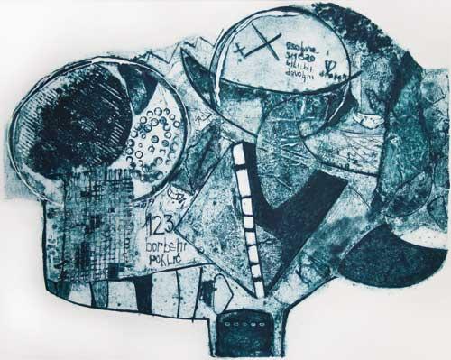 OTISAK VREMENA: Izložba grafika Ane Milosavljević u Galeriji ULUS | Beograd 2015