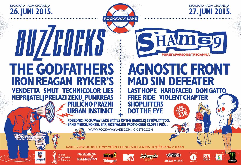 Rockaway Lake Festival: Kompletan program i satnica festivala! | Ada Ciganlija | Beograd
