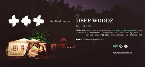 DEEP WOODZ: Poslednja u nizu promotivnih žurki za događaj +++ (PlusPlusPlus)! | 2015