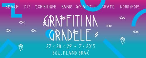 GRAFFITI NA GRADELE: Regionalni art festival na ostrvu Brač