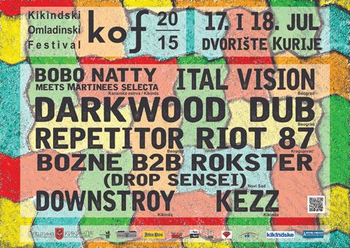 KOF 2015: Omladinski Muzički Festival u Kikindi! | Dvorište Narodnog Muzeja