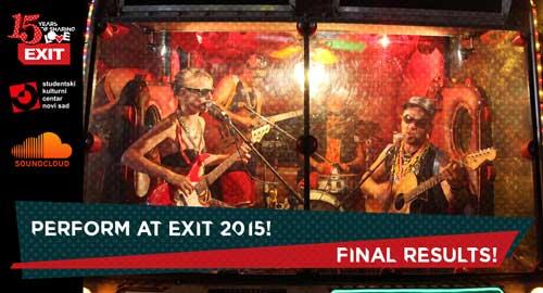 43 pobednika međunarodnog konkursa za nastup na Exitu! | EXIT Festival | 2015