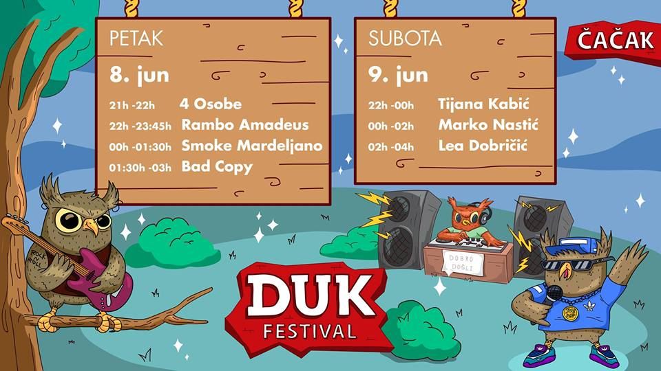 DUK Festival,  Čačak