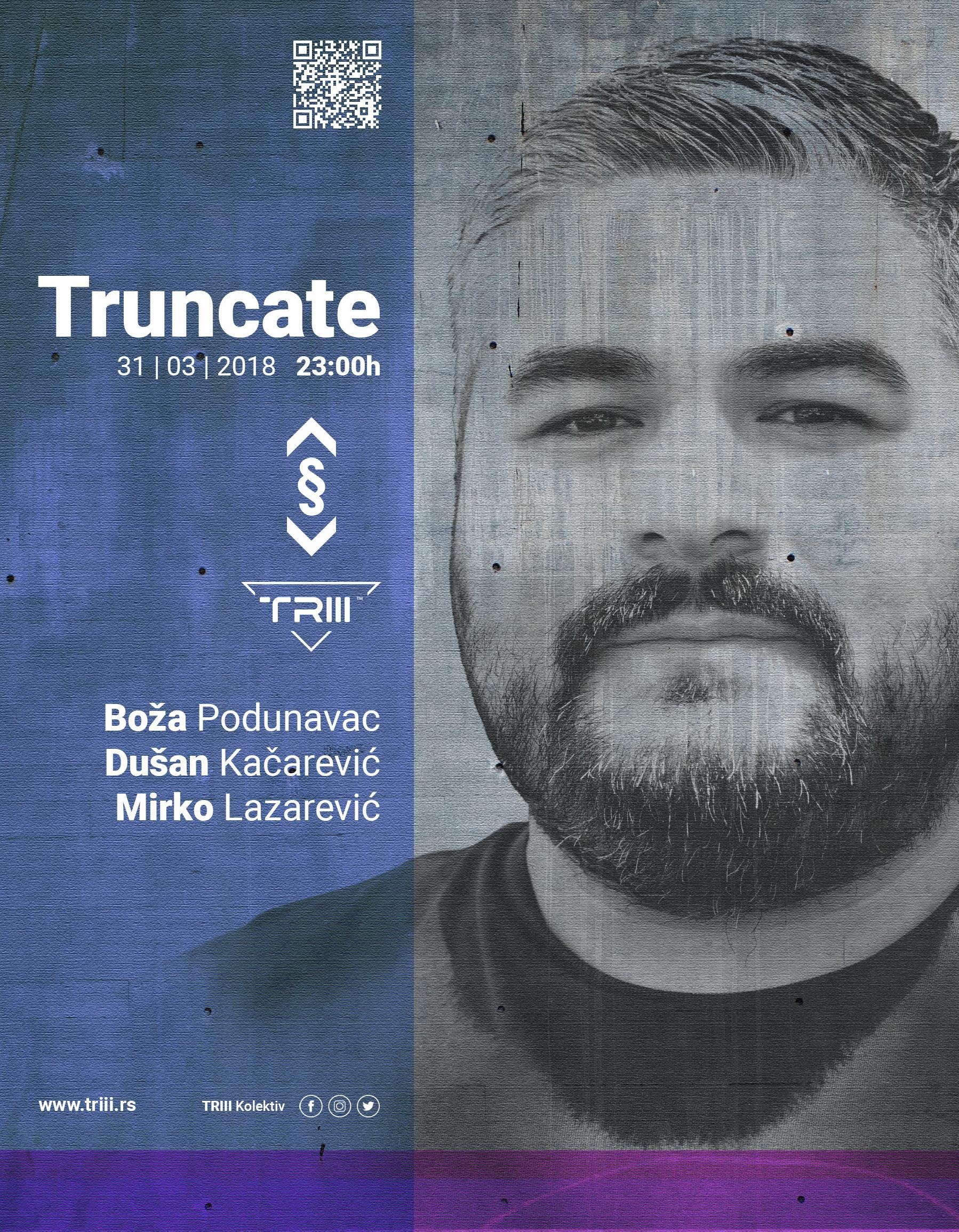 Truncate, Drugstore, Beograd