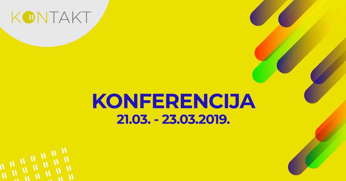 Kontakt konferencija 2019