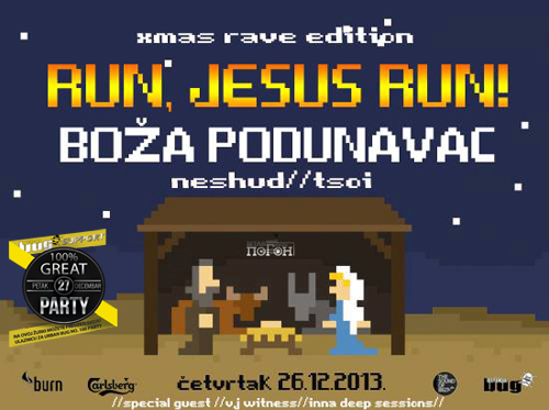 Run Jesus Run