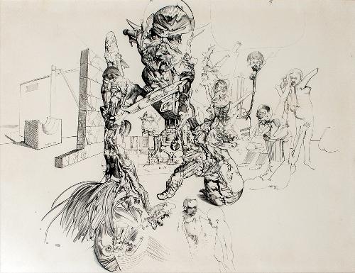 NEW MOMENT: Dvadeset četiri slikara, crtača i vajara i slikarska grupa Irwin! | Izložba | Miodrag Đurić | Beograd | 2015