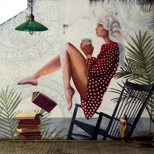 Andreja Žikić ARTEZ: Samostalna izložba uličnog umetnika i muraliste FIND YOUR WAY TO FLY! | Blok galerija | Beograd | 2015
