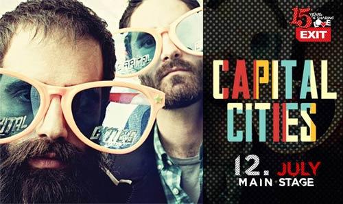 Exit Avantura 2015: Capital Cities na Petrovaradinu | EXIT Festival
