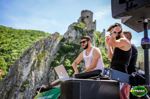 DJ Kristijan Petroviski i Nemax Jackmill Uranak festival 2015