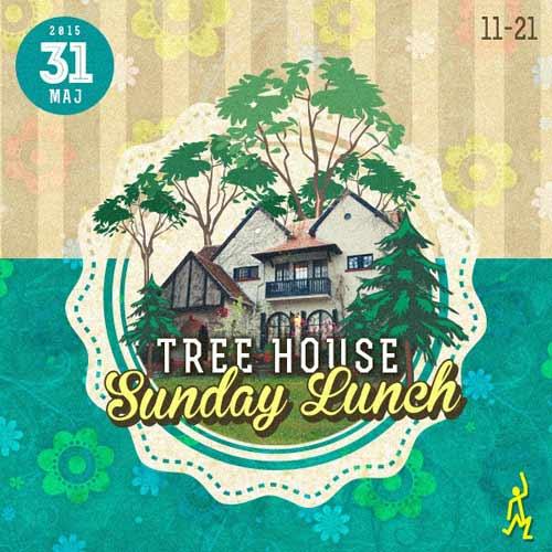 SUNDAY LUNCH: Happy People strikes again! Nedeljna zabava, nedeljno kuliranje, sunday lounge! | Tree House | Beograd | 2015